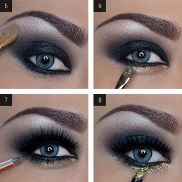Glitter Makeup Tutorials screenshot 2