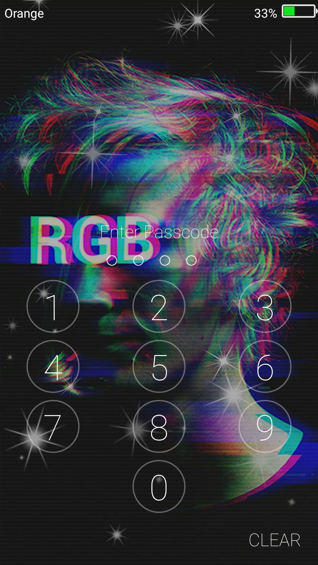 Glitch Live Wallpapers Lock Screen For Android Apk Download