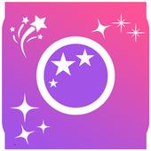 Glitter Effect Camera 2018 icon
