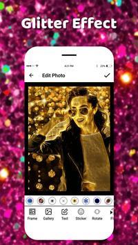 Glitter Effect Camera 2018 screenshot 4