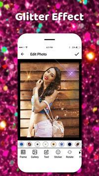 Glitter Effect Camera 2018 screenshot 5