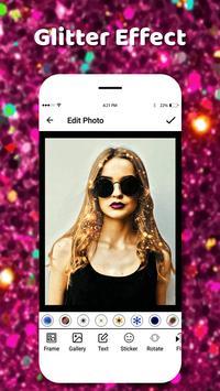 Glitter Effect Camera 2018 poster
