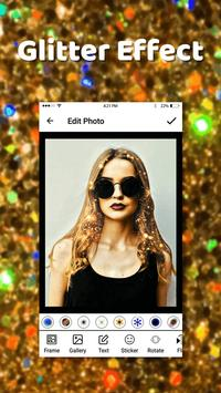 Glitter Effect Photo Editor poster