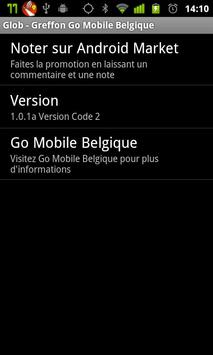 Glob - Go Mobile Be. Plugin apk screenshot