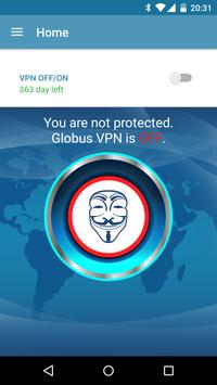 VPN+TOR+Cloud VPN Globus Pro! स्क्रीनशॉट 1
