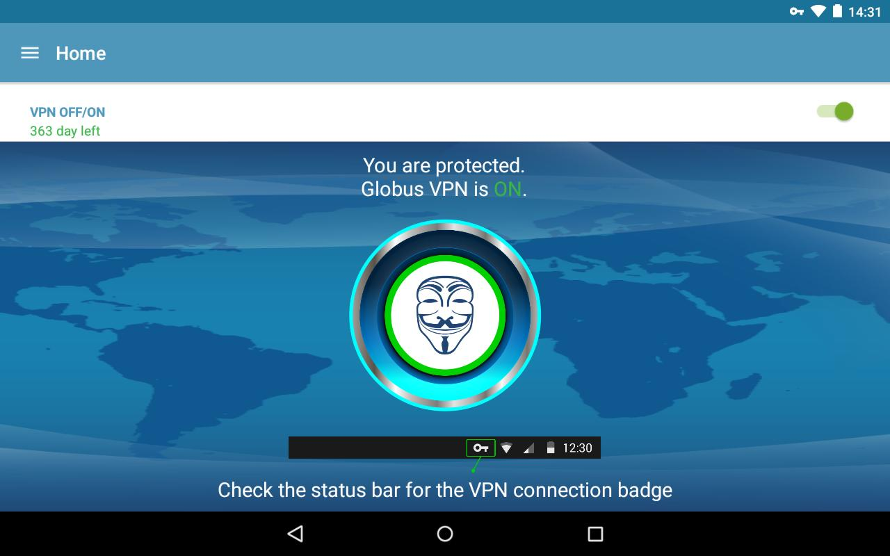 APK VPN GRATUITEMENT GLOBUS TÉLÉCHARGER