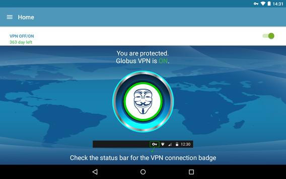 VPN+TOR+Cloud VPN Globus Pro! स्क्रीनशॉट 4