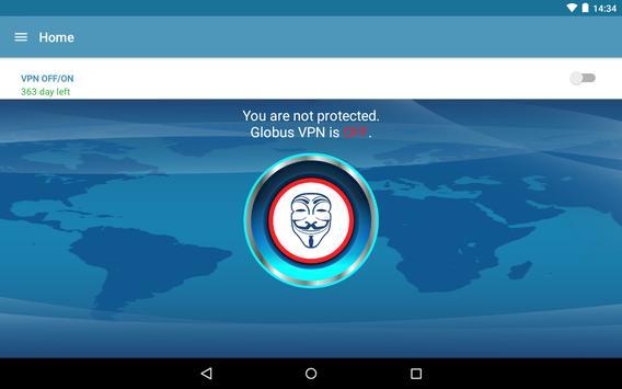 VPN+TOR+Cloud VPN Globus Pro! स्क्रीनशॉट 5