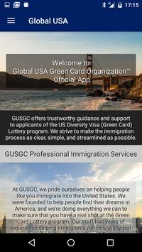 Global USA Green Card screenshot 1