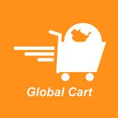 Global Cart icon