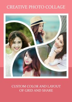 Creative Picture Grid Collage apk screenshot