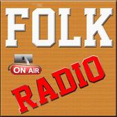 Folk Radio Stations FM/AM icon