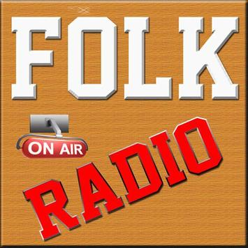 Folk Radio Stations FM/AM poster