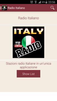 Italian Radio - Free Stations screenshot 1