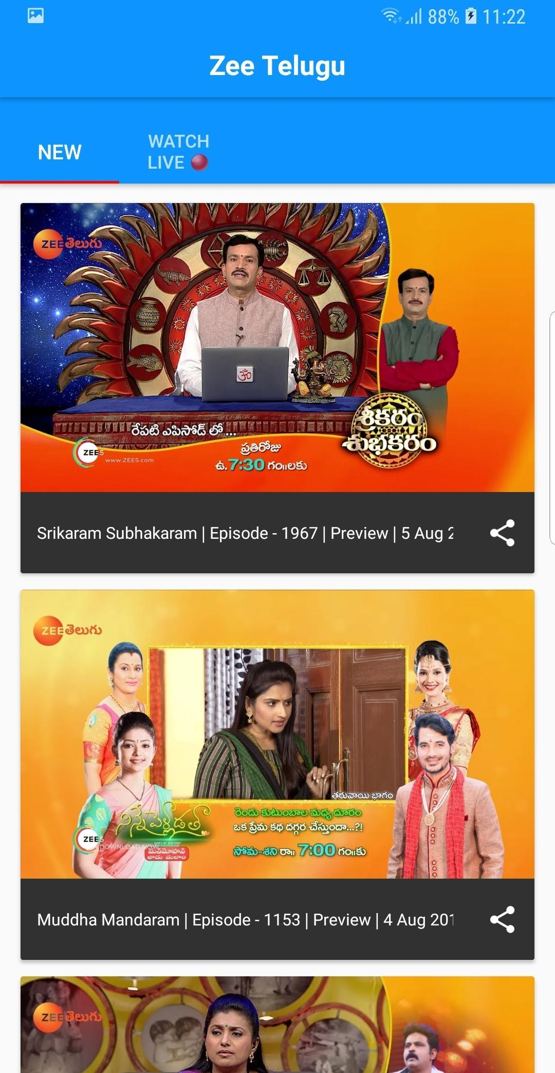Zee Telugu App for Android - APK Download