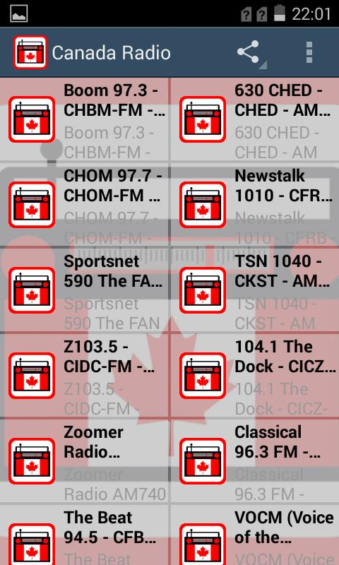 how to get local radio stations on an android phone
