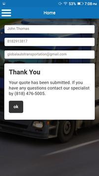Global Auto Transportation screenshot 3