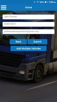 Global Auto Transportation screenshot 2