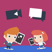 Global Call Live Chat Advice icon