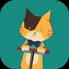 bouncy cat icon