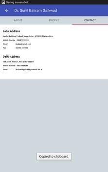 Dr. Sunil Baliram Gaikwad screenshot 4