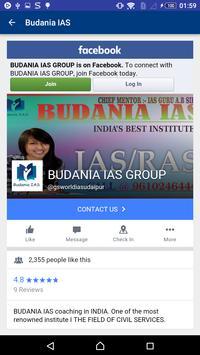 Budania IAS screenshot 5