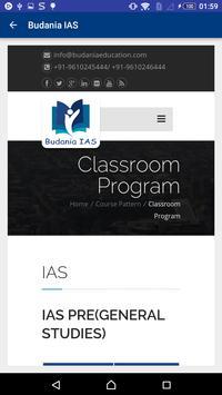 Budania IAS screenshot 6