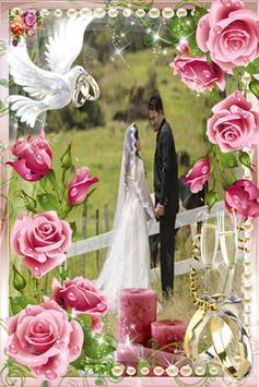 The wedding frame poster