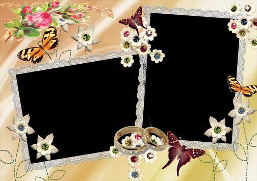 The wedding frame apk screenshot