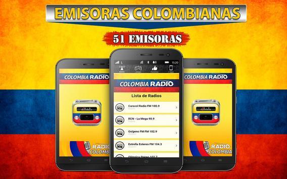 Radios de Colombia 📻 Emisoras poster
