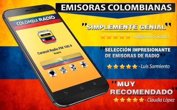 Radios de Colombia 📻 Emisoras apk screenshot