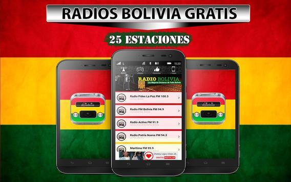 Radios de Bolivia Gratis poster