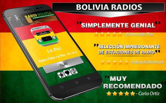 Radios de Bolivia Gratis apk screenshot