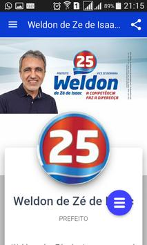 Aplicativo Weldon Prefeito 25 apk screenshot