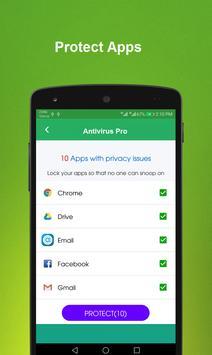 Antivirus Pro & App Lock apk screenshot