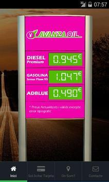 Avanza Oil poster