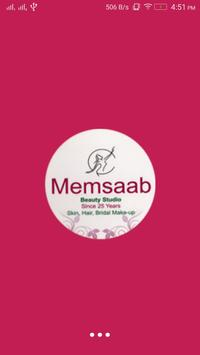 Memsaab Beauty Studio poster