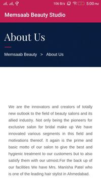 Memsaab Beauty Studio screenshot 5