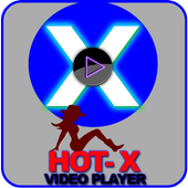 X-Hot Video Player  (HD VIDEOS) icon