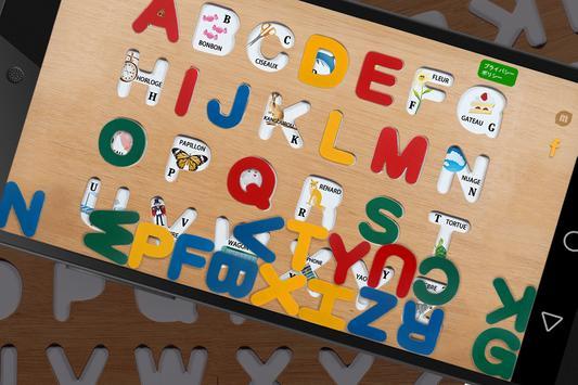 French ABC puzzle apk screenshot