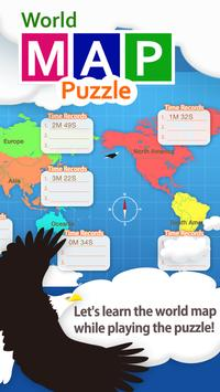 World map puzzle for kids apk download free education app for world map puzzle for kids poster gumiabroncs Gallery
