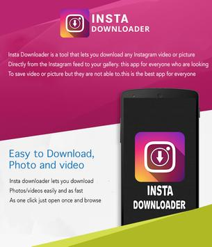Video Downloader for Instagram poster