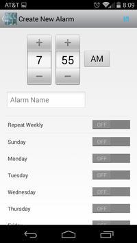 GloriousDJ's Alarm Clock apk screenshot
