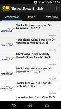 TheLocalNews-India screenshot 2