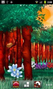 Peaceful Forest Live Wallpaper apk screenshot
