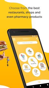 Glovo: entregas de qualquer loja ou restaurante apk imagem de tela