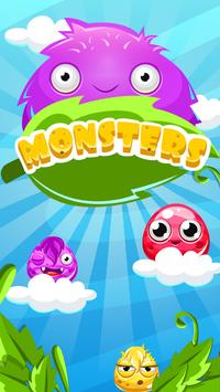 Monsters Balls - Brick Breaker Angle shooter poster