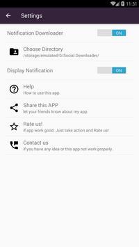 Social Downloader screenshot 3