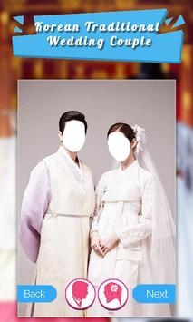Korean Traditional Wedding Couple screenshot 4