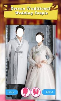 Korean Traditional Wedding Couple poster